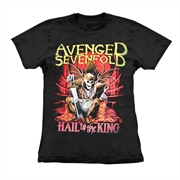 Baby look Avenged Sevenfold - Hail To The King