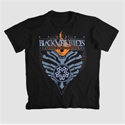 Camiseta Black Veil Brides - This Heart Of Fire Is Burning Proud