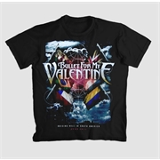 Camiseta Bullet For My Valentine - Raising Hell In South America